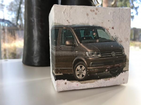 Mini Leinwandbild Volkswagen VW Transporter