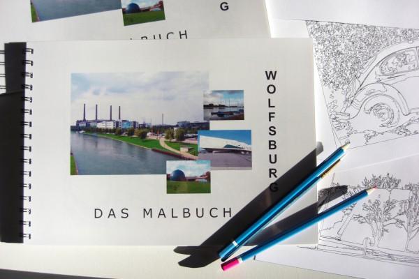 Wolfsburg Malbuch