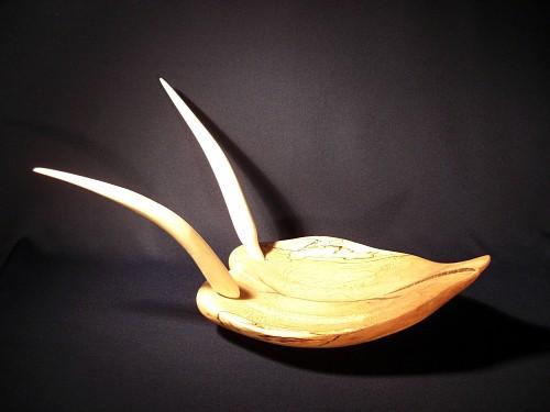 Wood sculpture no. 022