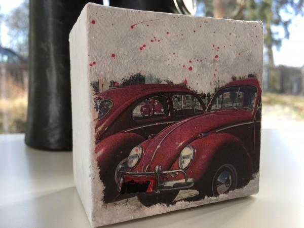 Mini Leinwandbild 2 rote Käfer